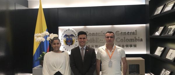 Inició la jornada electoral presidencial 2018 para la segunda vuelta en el Consulado de Colombia en Guangzhou