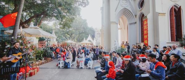 Tradicional Novena de Aguinaldos en Guangzhou
