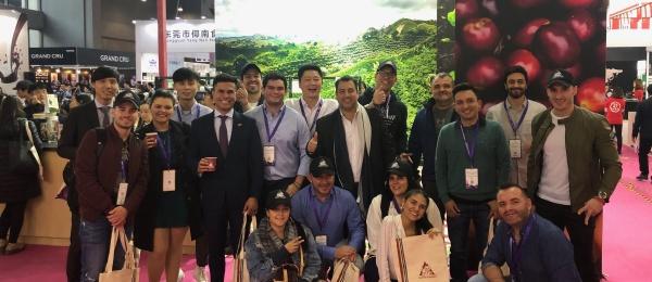 Primer Programa de Embajadores de Café de Colombia en Guangzhou, China